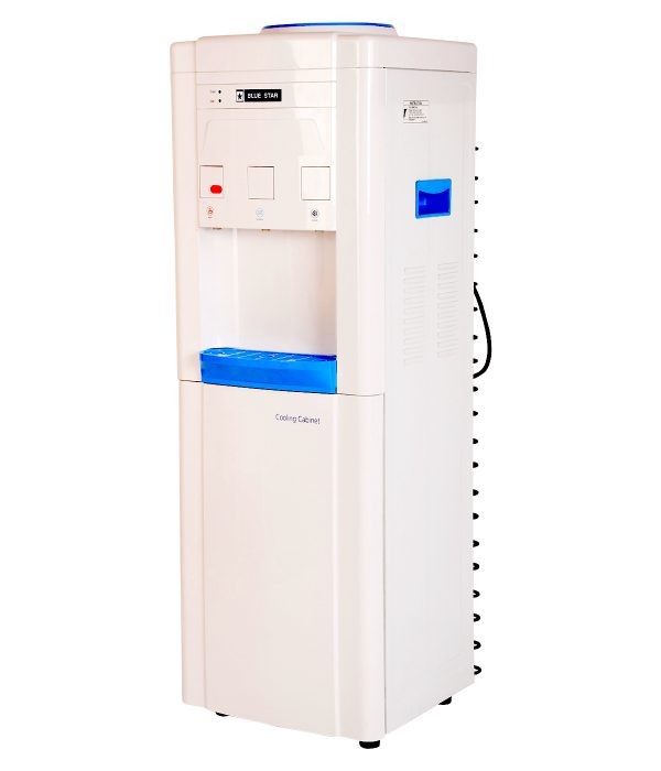 Blue Star BWD3FMRGA - Water Dispenser with Refrigerator White and Blue