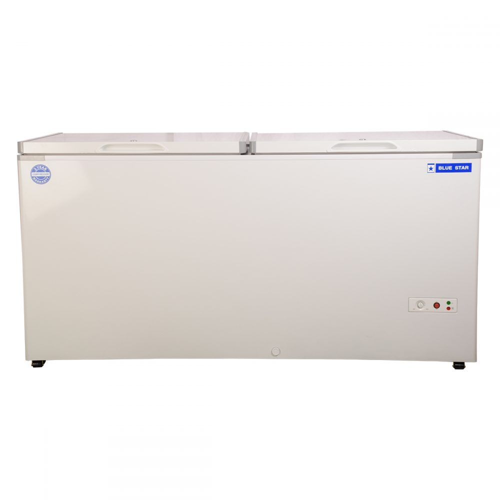 CHF500 - 500 Liter Blue Star Double Door Deep Freezer