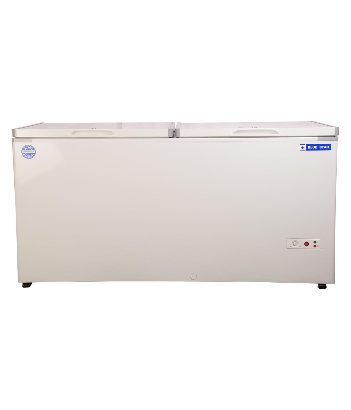 CHF500 - 500 Liter Blue Star Double Door Deep Freezer