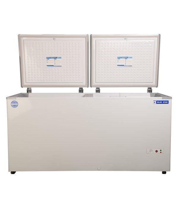 CHF400 - 400 Liter Blue Star Double Door Deep Freezer