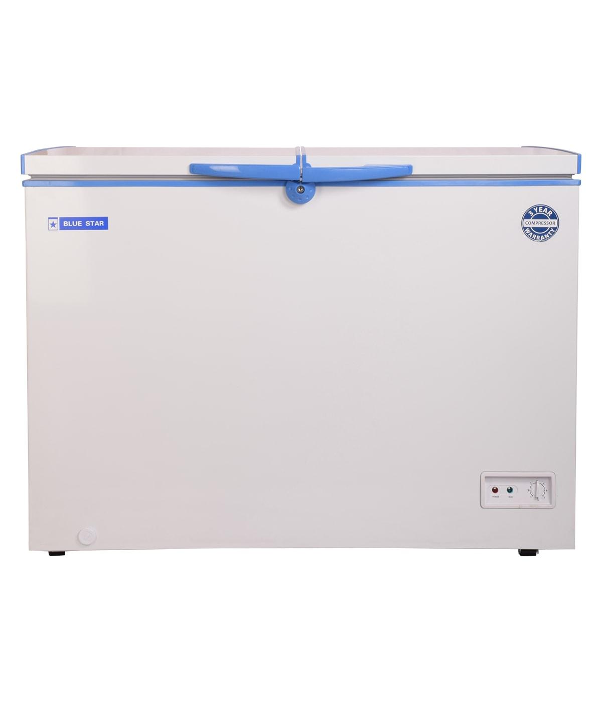 CHFDD300 - Blue Star 300 Liter Double Door Deep Freezer