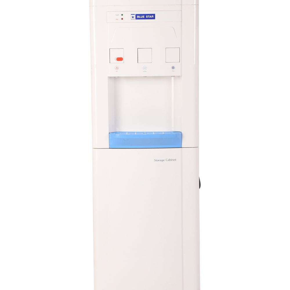 Blue Star BWD3FMCGA Water Dispenser with Storage Cabinet or Non Cooling Cabinet