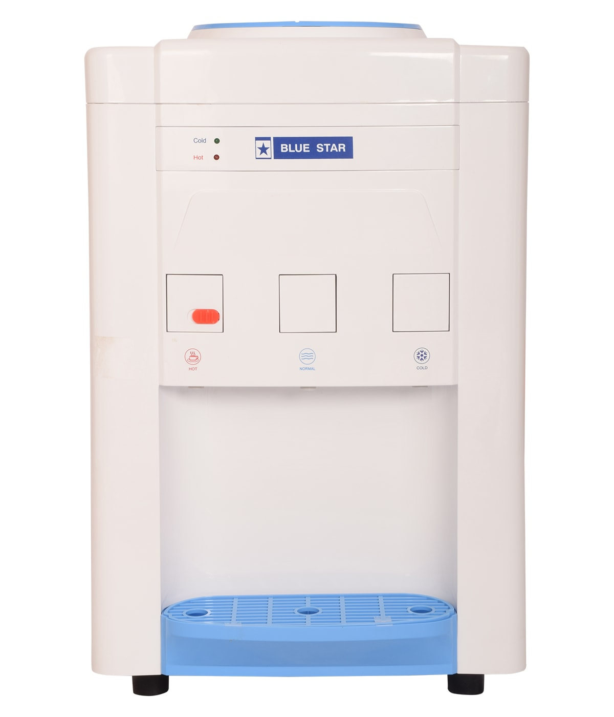 Blue Star BWD3TTGA - Table Top Water Dispenser White and Blue